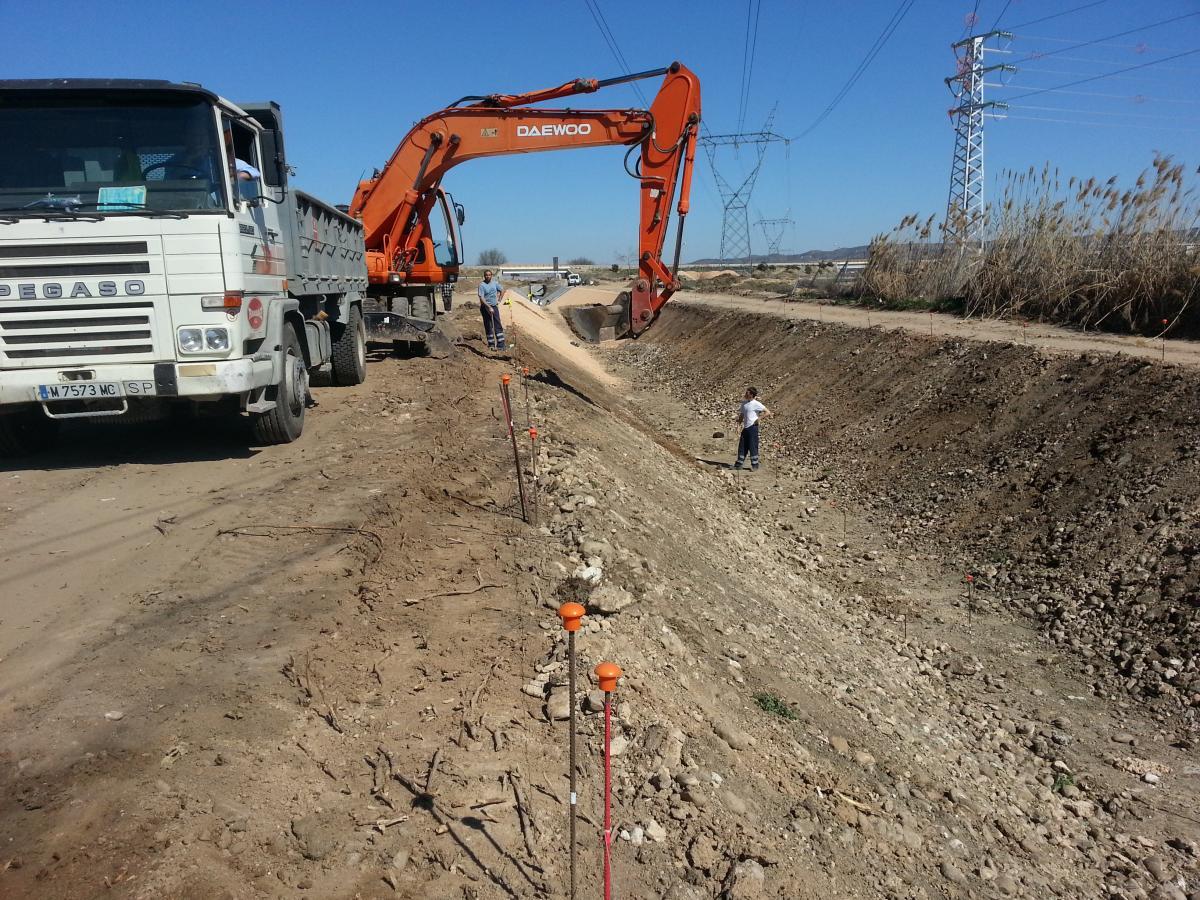 Reconstrucción completa de canal